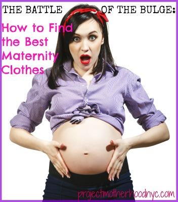 How to Find Cute Maternity Clothes That Actually Fit