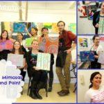 Mamas & Mimosas Brunch and Paint at The Art Studio NY