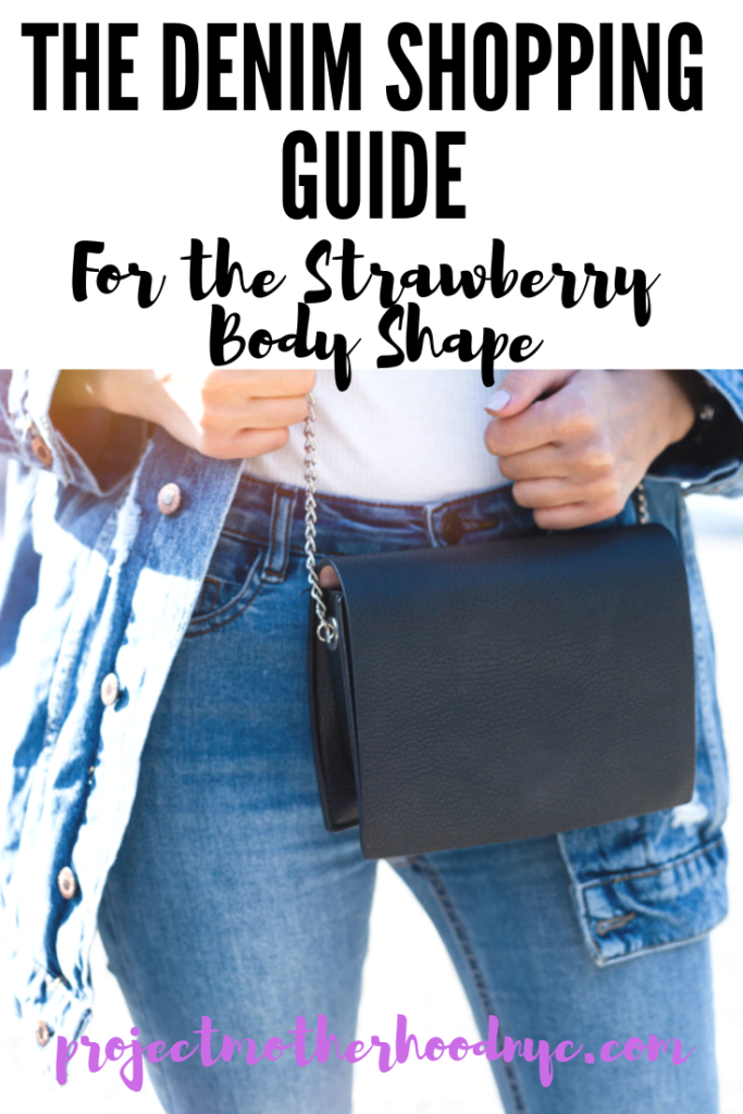 1c143413fd890 Dress For Your Body Shape  Strawberry Denim Style! - Project Motherhood