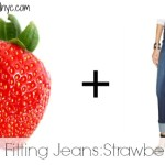 The Best Fitting Jeans: Strawberry Style!