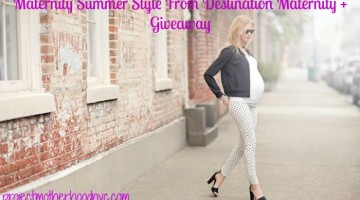 Maternity Summer Style + Destination Maternity Giveaway