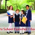 Back to School Favorites + Giveaway