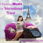 7 Packing Musts for International Travel, American Girl Version