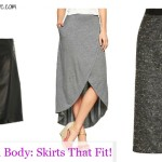 Pear Shaped Body: Skirts That Fit!