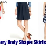 Strawberry Body Shape: Skirts That Fit!