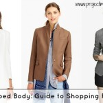Apple Body Shape Clothes: Shopping For Blazers