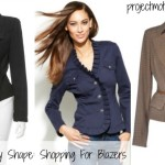 Rectangle Body Shape: Shopping For Blazers