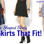 Clothes For Rectangle Body Shape: Skirts That Fit!