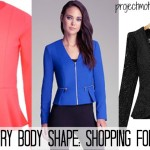 Strawberry Body Shape: Shopping For Blazers