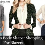 Hourglass Body Shape: Shopping For Blazers