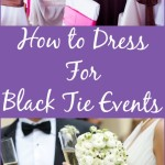 How To Dress For Black Tie – Etiquette Code