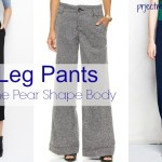 Wide Leg Pants For The Pear Shape