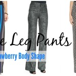 Body Shapes For Women: Wide Leg Pants For The Strawberry Shape