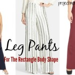 Wide Leg Pants For The Rectangle Body Shape
