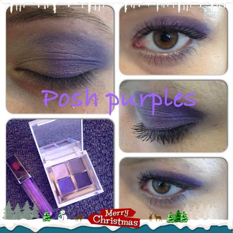 Posh purples!