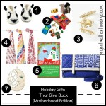 Holiday Gifts That Give Back {Motherhood Edition}