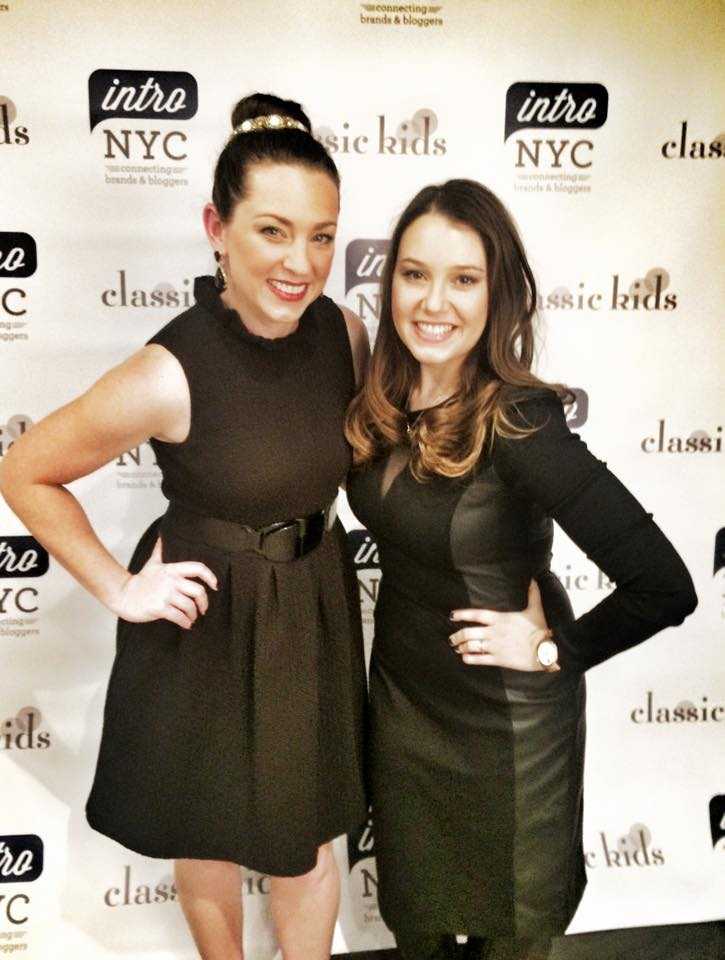 Me and Stephanie Barnhart, INTRO NYC's co-founder!