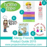 Allergy Friendly Products 2015