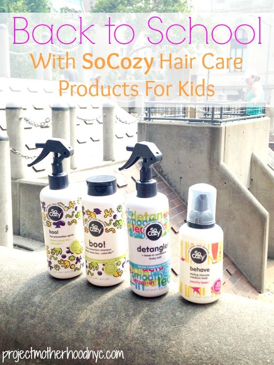 Back to School With SoCozy Hair Care Products For Kids