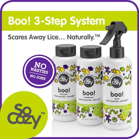 A Must For School Days – SoCozy Boo! Lice Prevention 3-Step System