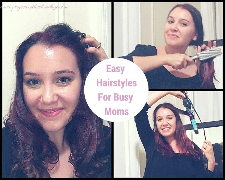 Easy Hairstyles For Busy Moms