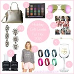 Holiday Gift Guide For Her 2015