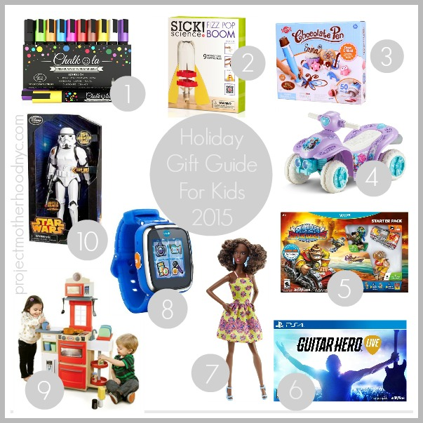 Holiday Gift Guide For The Kids 2015