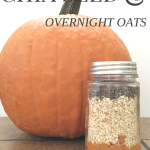 Pumpkin and Chia Seed Overnight Oats