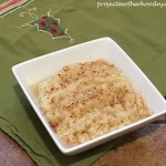 Holiday Healthy Eating Tips and Cauliflower Mash Recipe