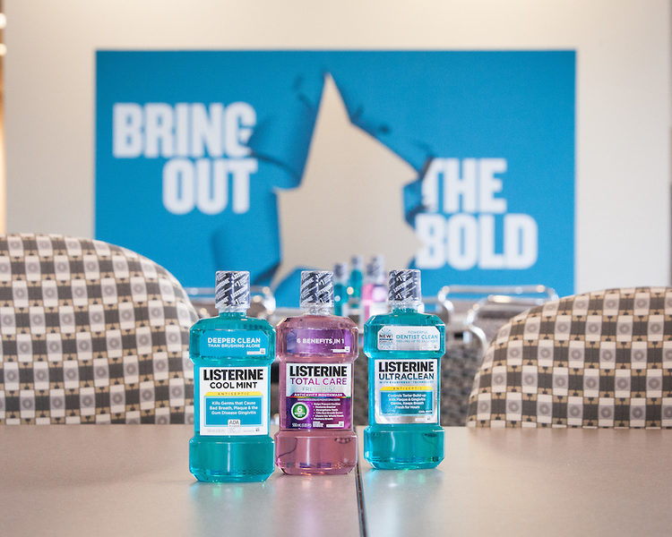 Being Bold At The LISTERINE® Lab