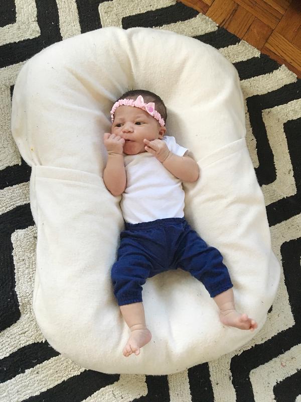cosleeping newborn snuggle me organic