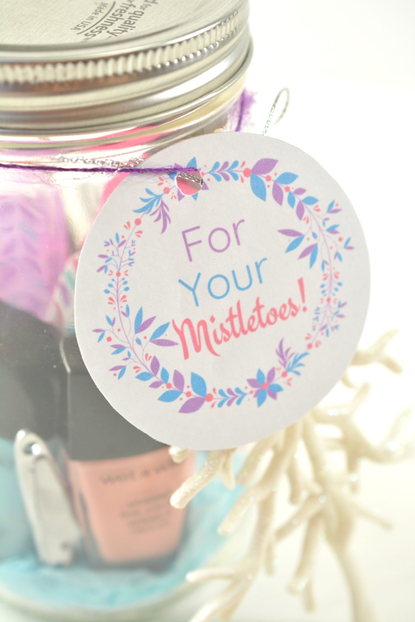 Mason Jar Gift Ideas Diy At Home Day At The Spa Free Printable Project Motherhood