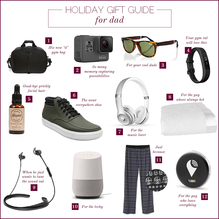 Holiday Gift Guide 2017 For Dad