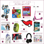 Holiday Gift Guide 2017 For Kids {Ages 8-10}
