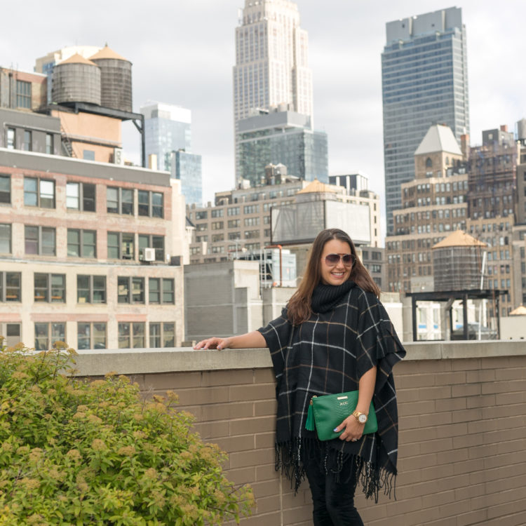 How To Style A Poncho #MomStyleMonday